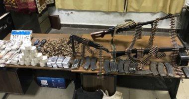 ضبط 8 بحوزتهم أسلحة نارية وذخائر بمناطق الخصوص وشبين القناطر وقليوب