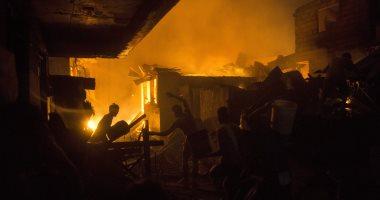 إخماد حريق محدود بأحد المحلات التجارية فى أسوان