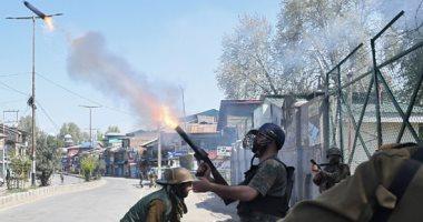 مقتل مسلحين اثنين فى اشتباكات مع القوات الهندية بإقليم كشمير