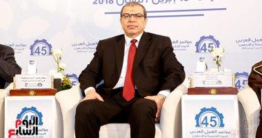 وزير القوى العاملة: زيادة دور الحركة النقابية العربية لتوفير فرص عمل للشباب