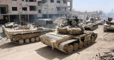 الجيش السورى يدمر منصات إطلاق صواريخ للإرهابيين ويقضى على أعداد منهم بريف حماة