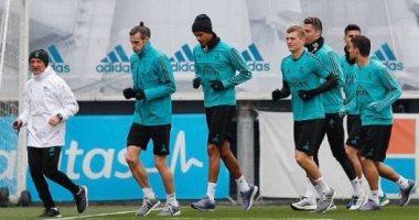 ريال مدريد يبدأ استعداداته للقاء يوفنتوس بدورى الأبطال بعد الديربى.. صور