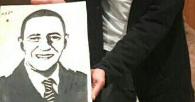 قارئ يشارك بلوحات وأعمال نحتية لفنانين أبرزهم أشرف عبد الباقى وإسعاد يونس