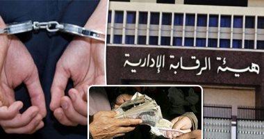 الرقابة الإدارية تضرب الفساد.. 3 قضايا فى القاهرة والعين السخنة ودمياط