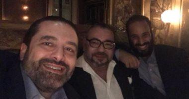 سعد الحريرى ينشر صورته مع ولى العهد السعودى وملك المغرب فى باريس