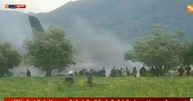 التليفزيون الجزائرى: مصرع 105 فى الطائرة العسكرية المنكوبة