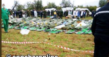 الجزائر.. وسائل إعلام تنشر صورة جثث ضحايا الطائرة المنكوبة