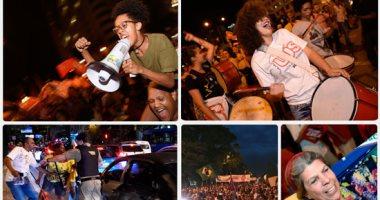 """مظاهرات تأييد """"لولا دا سيلفا"""" داخل وخارج البرازيل.. واشتباكات مع معارضيه"""