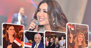 لطيفة تتألق فى حفل صندوق تحيا مصر بحضور وزراء ونجوم الفن والإعلام