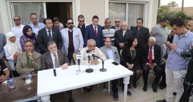 فيديو وصور.. بهاء أبو شقة: ثوابت وتقاليد حزب الوفد دفعتنا لتكريم السيد البدوى