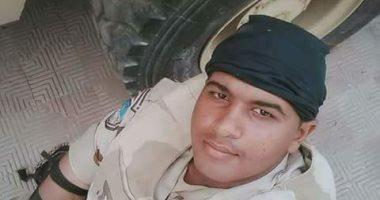 ننشر صور المجند سمير عبد اللطيف أحد شهداء إحباط الهجوم الإرهابى بسيناء