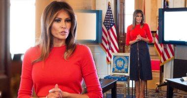 ميلانيا ترامب تضع لمساتها على غرف البيت الأبيض التاريخى.. شوف الصور