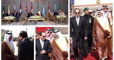 الرئيس السيسى يصل إلى السعودية للمشاركة فى القمة العربية