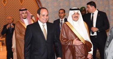 الرئيس السيسى يصل السعودية للمشاركة فى القمة العربية بالدمام