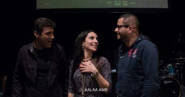 صور.. كواليس حفل فرقة افتكاسات والتريو السويسرى سيمون سبيس فى مكتبة إسكندرية