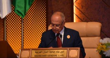 أبو الغيط: التطورات الأخيرة فى ملف المياه العربية يثير القلق