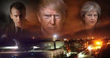 روسيا تشكك فى تصريحات واشنطن وباريس ولندن بشأن أهداف ضرب سوريا