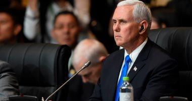 بنس منتقدا هجوم أوباما على ترامب: الشعب الأمريكى رفضكم يوم انتخابه