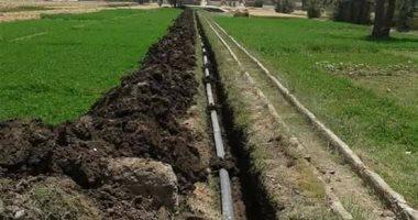 مصرف المحسمة مشروع قومى لإعادة استخدام مياه الصرف الزراعى