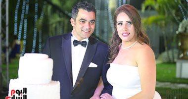 زفاف الرائد أحمد عصام شلتوت والإعلامية نيرة شريف فى حضور نجوم الرياضة والمجتمع