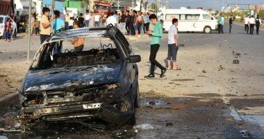 الاستخبارات العراقية تعلن تفجير سيارة مفخخة بعد مطاردتها في الانبار