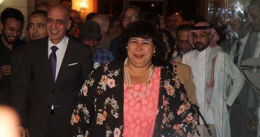 وزيرة الثقافة تفتتح الملتقى الدولى الخامس للكاريكاتير