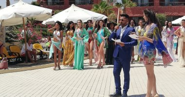 فيديو وصور..ملكات جمال 60دولة يتنافسن على لقب أفضل مايوه فى العالم بمرسى علم