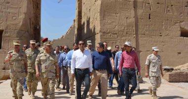 الآثار تزيل الستار عن تمثال رمسيس الثانى خلال احتفال يوم التراث الجمعة المقبل