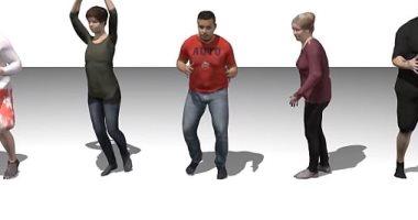 علماء يبتكرون برنامج ذكاء اصطناعى ينشىء نماذج 3D للأشخاص خلال ثوان