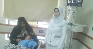 صور وفيديو.. إجراء أول عملية إصلاح عيوب خلقية بالقلب لطفلين بمستشفى بنى سويف العام