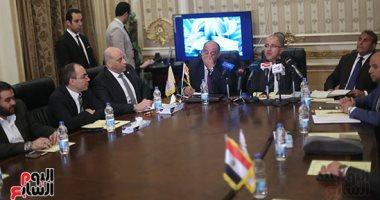 السويدى: تعاون بين دعم مصر ومراكز تنمية المجتمع لتحقيق القيم التنموية - صور