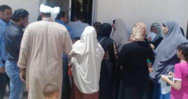 صور.. جامعة قناة السويس تنظم قافلة طبية برأس سدر