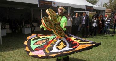 عروض فلكلورية لطلاب 20 دولة بافتتاح مهرجان أسبوع الشعوب بجامعة عين شمس