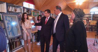 """مركز مصر للعلاقات الثقافية بأذربيجان يقيم معرض """"مصر بعيون أطفال أذربيجان"""""""