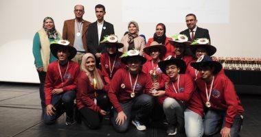 صور.. مختبر الروبوتات بالجامعة الألمانية يستقبل ممثلى مصر فى المسابقة العالمية
