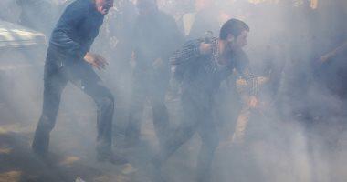 صور.. اشتباكات عنيفة مع المتظاهرين فى أرمينيا ضد تعيين رئيس جديد للحكومة