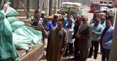 محافظ القليوبية يتفقد استلام الصوامع لمحصول القمح