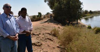 محافظ أسوان : لن يتم تركيب خط المعالجة الثلاثية بقرية بلانة إلا بعد اختباره