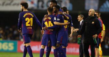 برشلونة يفوز على صن داونز بثلاثية فى احتفالية مئوية مانديلا.. فيديو