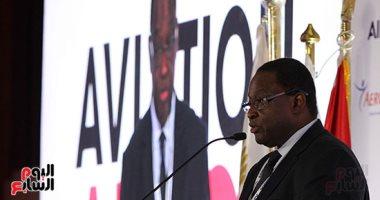 انطلاق فعاليات مؤتمر ومعرض الطيران الإفريقى  2018 - صور