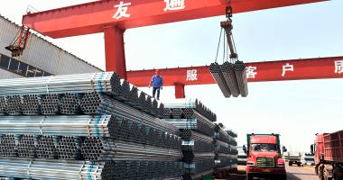ارتفاع الاستهلاك المحلى من الحديد بنسبة 39% بسبب المشروعات القومية
