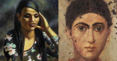شارك بالرأى.. كم تساوى لوحة المرأة لـ محمود سعيد وبورتريه الفيوم؟