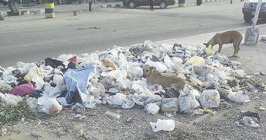 """شكوى من انتشار القمامة بمنطقة """"السبعين فدان"""" فى المقطم"""