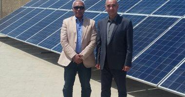 """""""المجتمعات العمرانية"""" تفتتح محطة للطاقة الشمسية بالصالحية بقدرة 45 كيلو وات"""
