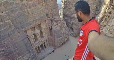 محمد نوفل فى الأردن