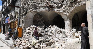 سانا: العثور على نفقين وتفكيك عشرات العبوات الناسفة جنوب دمشق