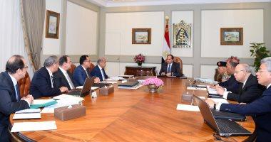 الرئيس السيسى يبحث استعدادات الحكومة لشهر رمضان