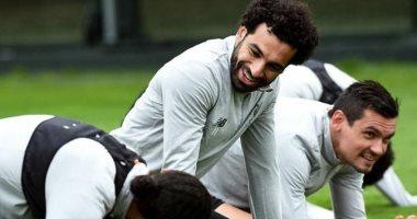 مدافع ليفربول من التدريبات: ربنا يحميك يا صلاح