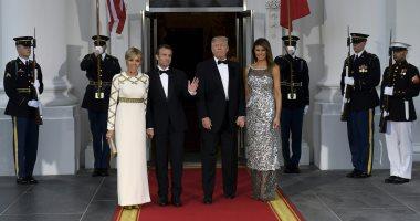 صور.. ترامب يقيم حفل عشاء ضخم فى البيت الأبيض تكريما للرئيس الفرنسى