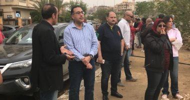 رئيس جهاز القاهرة الجديدة: مستمرون فى رفع مياه الأمطار بالمدينة